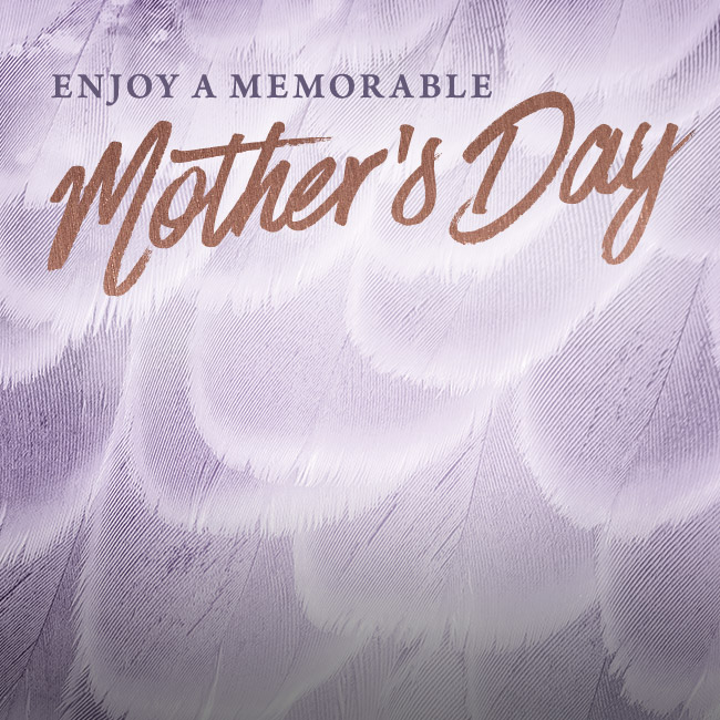 Mother's Day Menu at The George