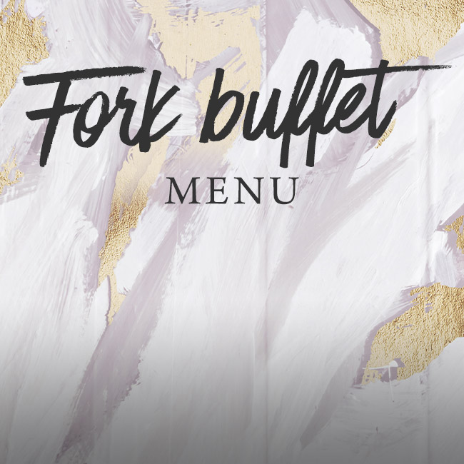 Fork buffet menu at The George