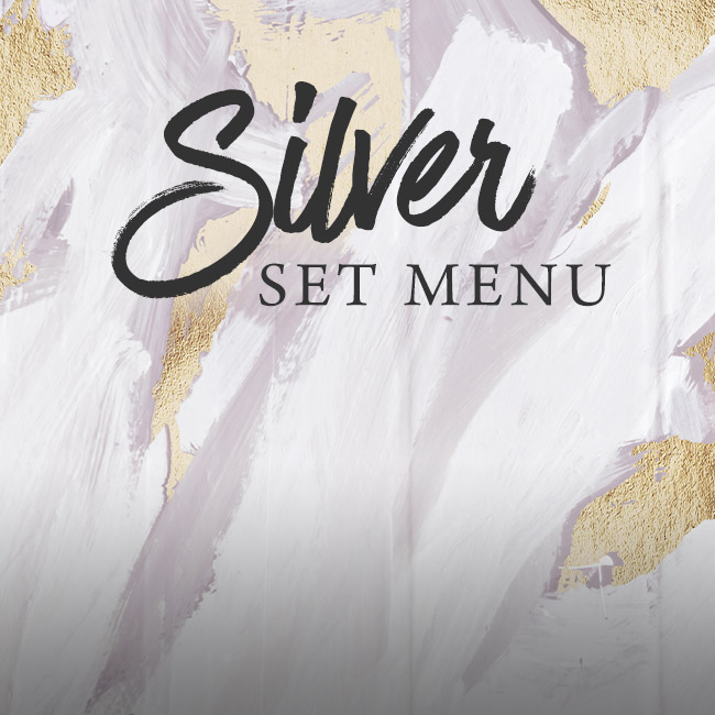 Silver set menu at The George